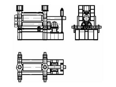Upper Roller Universal Plate Rolling Machine
